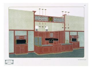 Pl 87 Architecture Moderne I, 19th or 20th Century (Print) Giclee Print by Richard Muller