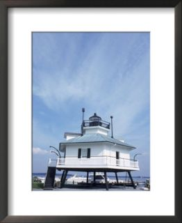 Old Famous Lighthouse, St. Michael, MD Pre made Frame