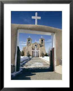 Mission San Francisco De Asis, Ranchos De Taos, New Mexico, USA Pre made Frame