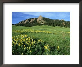 Rocky Mountain Foothills, USA Pre made Frame
