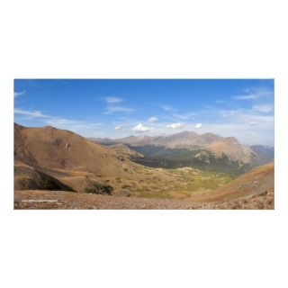Rocky Mountain Way Landscape Photo Card