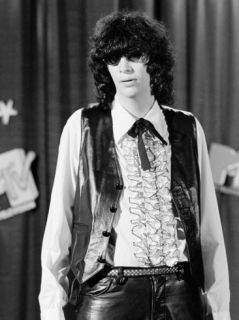 Punk Rock Singer Joey Ramone of The Ramones Premium Photographic Print