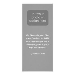 JEREMIAH 2911 Bible Verse Custom Rack Card