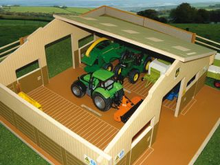 BRUSHWOOD TOYS BT8910 FARM HOUSE 132 SCALE NEW