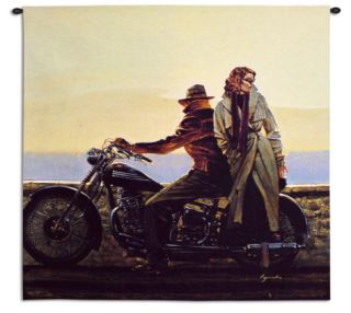 Coastal Ride Wall Tapestry by Brent Lynch