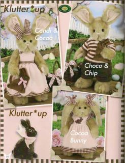 Girl Doll Easter Bunny Rabbit CANDI & COCOA #420186 Spring 2012