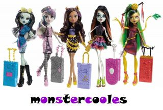 Monster High Scaris City of Frights Deluxe Puppen Dolls NEU 2013