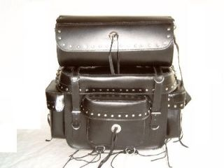 Sissy Bar Top Case Saddle Bag Saddle Bags SB 124 Harley