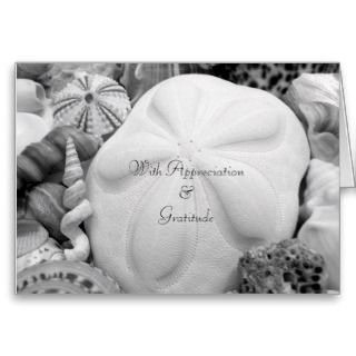 Sand Dollar Pastor / Clergy Appreciation Card