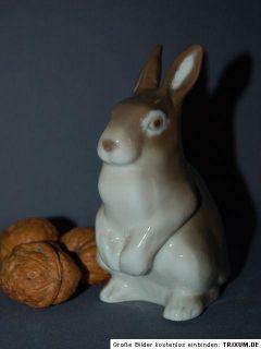 Bing Gröndahl B&G Hase Kaninchen Rabbit Figur Porzellanfigur