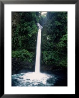 Mountain Waterfall, La Paz, Costa Rica Pre made Frame