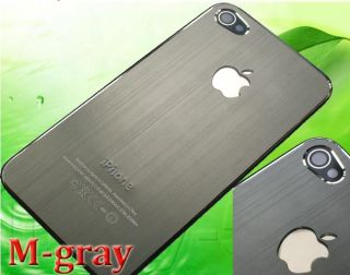 Metal Case housing fit iPhone 4 G/4G Mirror Silver/M