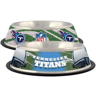 Tennessee Titans Stainless Steel Pet Bowl   Team Shop   Dog