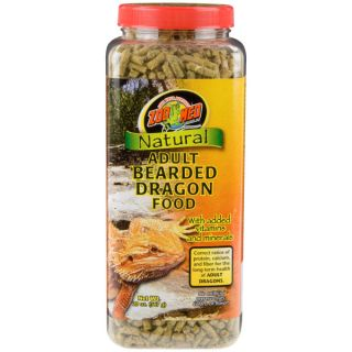 Zoo Med Natural Adult Bearded Dragon Food   Sale   Reptile