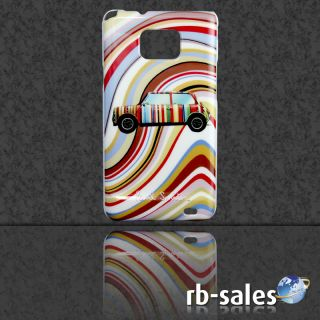 Samsung Galaxy S2 GT I9100 Hard Cover Case Hülle   Motiv Mini Cooper