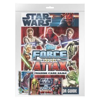 Star Wars Serie 3 Force Attax Sammelmappe Sammlermagazin und Karten
