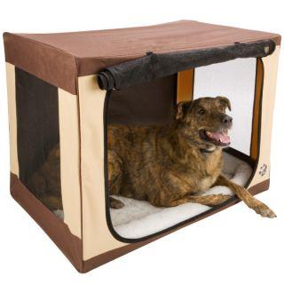 Indoor Dog House � Pet Gear Travel Lite Single Door Soft Crates