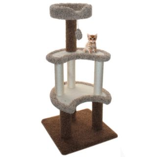 "Majestic Pet Products 50"" Deluxe Cat Tree   Furniture & Towers   Furniture & Scratchers"