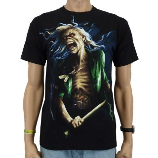 Iron Maiden   Benjamin Breeg Band T Shirt, schwarz