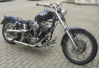 Harley Davidson FXWG 1340er Shovelhead 81 EINZELSTÜCK Shovel