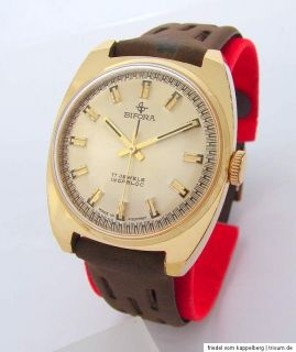 Bifora Made in Germany 17 Jewels Handaufzug Uhr vintage men gents