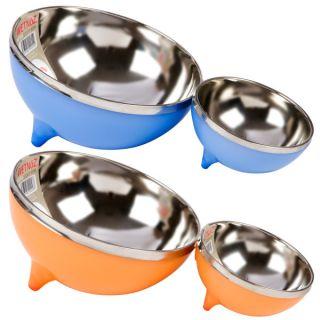 Wetnoz Metro Scoop n' Serve Stainless Steel Dog Bowls   Dog   Boutique