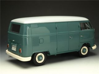 18 Schuco VW T1 Box van Blue model car Japanese Volkswagen