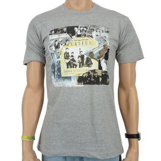 The Beatles   Anthology 1 Band T Shirt, heather grey