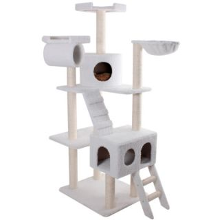 "Majestic Pet Products 73"" Bungalow Cat Tree   Furniture & Towers   Furniture & Scratchers"
