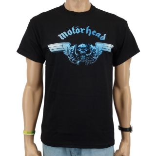 Motorhead   Tri Skull Band T Shirt, schwarz