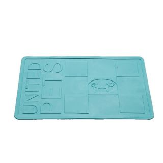 Pet Ego MustafA Mat Pet Placemat   Lt Blue