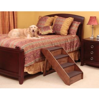 Pet Stairs for Bed � Solvit Extra Large PupSTEP� Wood Stairs