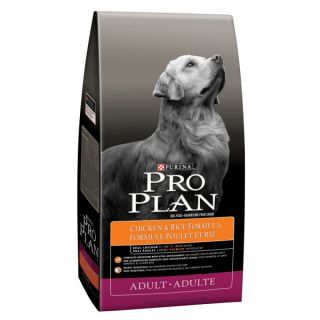 Purina� Pro Plan� brand Dog Food Chicken and Rice Adult Formula    Dry Food   Food