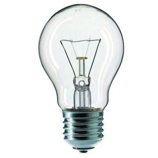 Philips Glühlampe 60 Watt / E27 / Farbe klar   universal   dimmbar