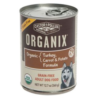 Castor & Pollux™ ORGANIX� Organic Turkey, Carrot & Potato Formula Grain Free Adult Dog Food   Food   Dog