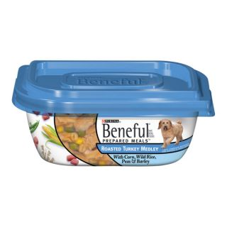 Purina® Beneful® Roasted Turkey Medley Prepared Meals™ Dog Food   Food   Dog