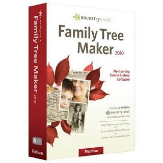 Family Tree Maker 2010 Premium Edition Software