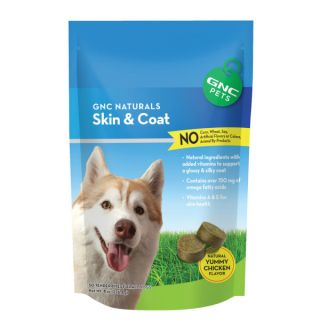 GNC Pets® Naturals Skin & Coat    Health & Wellness   Dog