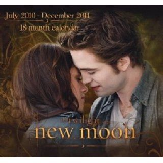 Twilight New Moon Edward 2011 18 month calendar Stephenie