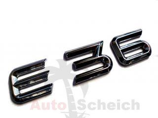 BMW E36 SCHRIFTZUG EMBLEM LOGO AUFKLEBER ZEICHEN CHROM STICKER M3 GT