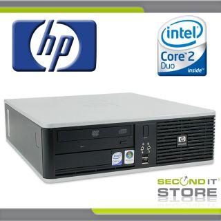 Compaq dc7800 SFF Intel Core 2 Duo mit 2x 2 33 GHz 80 GB HDD 2 GB RAM
