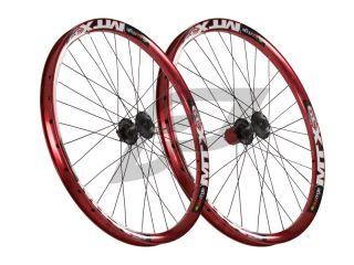 26 Laufradsatz Sun MTX 39 Fett Rot Shimano Deore Disc 6 Loch 201211064