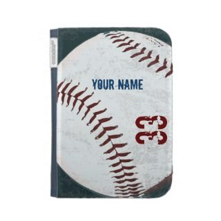 Vintage baseball ball iPad case