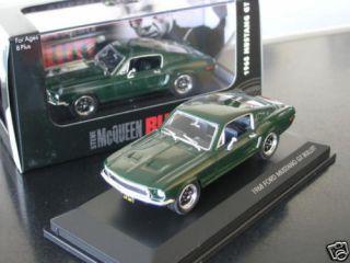 FORD Shelby Mustang Bullitt Steve McQueen 68 grün 143