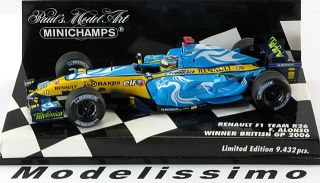 43 Minichamps Renault R26 Alonso 2006 World Champion