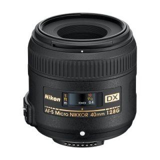 Nikon AF S DX Micro NIKKOR 40 mm 12,8 G Deutsche Neuware.