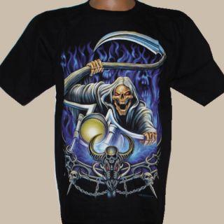 Orig. Rockvolution T  Shirt Rocker Biker Sensenmann NEU