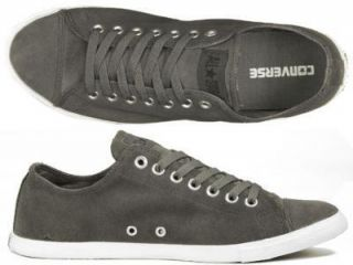 Schuhe Chucks Slim Ox grey grau suede 41,42,43,44,45,46