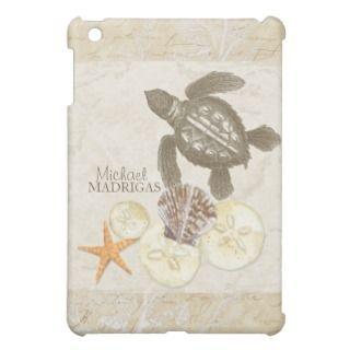 IPad Mini   Sea Turtle Star Fish Sand Dollar Shell iPad Mini Covers