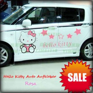 Hello Kitty Auto Tattoo Aufkleber Sticker 43 x 50 cm
